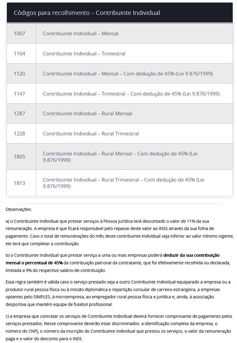 contribuinte-individual-inss-codigo-plano-normal